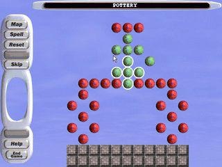 Interessantes Spiel in dem Sie Kugeln vom Spielfeld entfernen müssen.