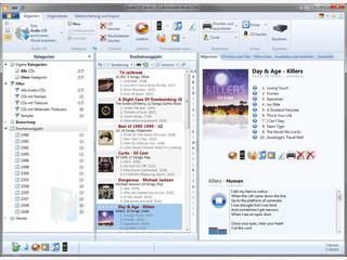 Archivierung von Musik-CDs, mit Scans und Titeldatenbankdatenbank, Brenner usw.