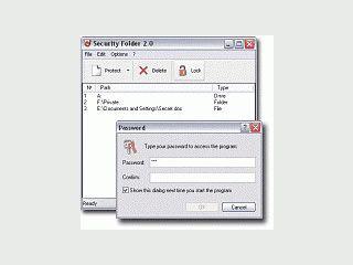 Macht Ordner unsichtbar und schützt diese mit einem Passwort