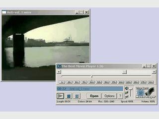Dieser DivX und MPG Player erlaubt es, die Abspielgeschwindigkeit zu verändern.