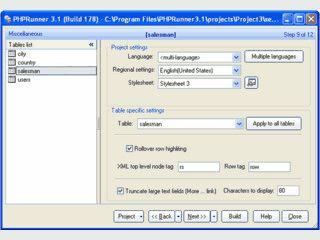 Erstellt automatisch PHP Seiten zur Abfrage, Bearbeitung von MySQL Datenbanken