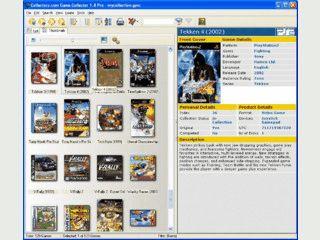 Verwaltung für Video- und Computerspiele. Daten werden per Internet ausgefüllt
