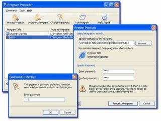Passwortschutz für jegliche Exe-Programme