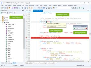 Editor für PHP, HTML, XHTML, CSS und Javascript Dateien