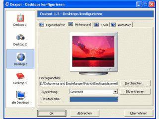 Bis zu 20 virtuelle Desktops unter Windows