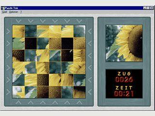 Drei interessante Puzzle Varianten in einem Programm.
