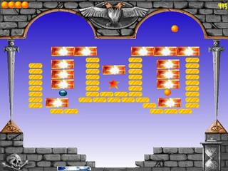 Traditioneller Arcade-Klon mit Hi-Score-Tabelle und ein paar Überraschungen.