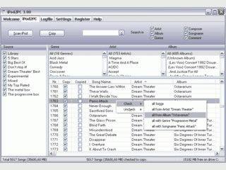 Tool mit dem Sie MP3-Songs vom iPod auf den PC übertragen können