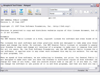 Text aus druckbaren Dokumenten extrahieren und als Datei speichern.