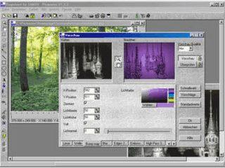 Bildbearbeitung mit sehr vielen Funktionen