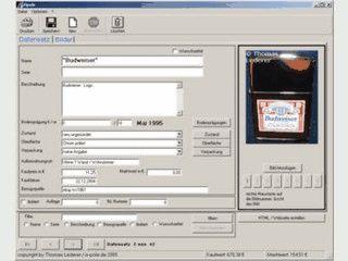 Software für Feuerzeugsammler