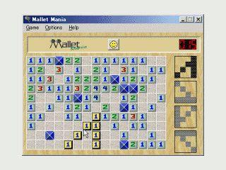 Mallet Mania ist eine Minesweeper Variante.