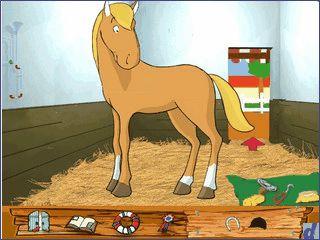 Lernprogramm rund um Filou und seine Pony-Freunde auf dem Ponyhof