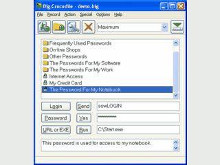 Speichert Passwörter für Webseiten und trägt diese automatisch ein