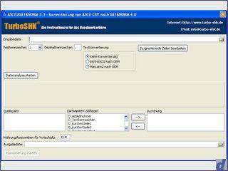 Konvertiert Artikellisten im Textformat in das Datanorm 4.0 Format.