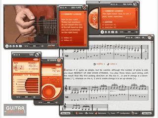Lernprorgramm mit dem Sie Gitarre spielen lernen können.