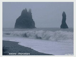 Slideshow-Screensaver mit 20 hochwertigen Aufnahmen aus Island