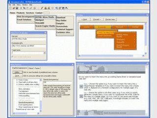 Gutes Tool zum Erstellen von DHTML Menüs für Ihre Webseiten