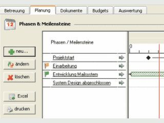 Projektmanagement für MS Outlook und MS Exchange Server