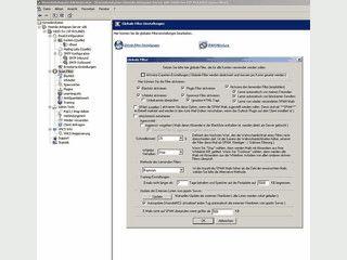 Email Prozessor und Connector für POP3 und IMAP4 mit SPAM- & Virus-Schutz