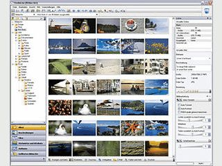 Bildverwaltung mit integrierter Bildbearbeitung und vielen Präsentationsmöglichk