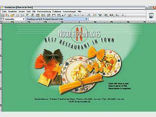 Flexibles Webdesign und -publishing mit integrierter Bildbearbeitung