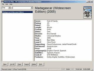 Verwaltung für Ihre DVD Sammlung auf PDAs und Windows