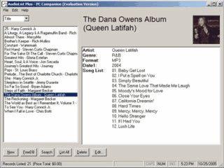 Verwaltung für CDs mit Online Titel-Abfrage