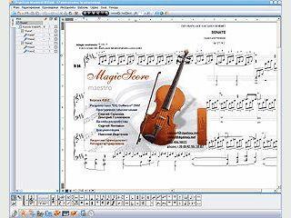 Software zur Erstellung, Bearbeitung und Verwaltung von Notenblättern.