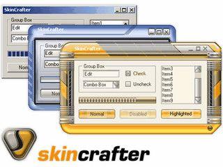 ActiveX Bibliothek die Ihre Anwendungen Skin-fähig macht.