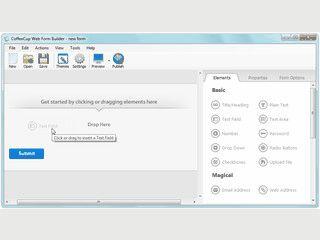 Gutes Tool um tolle Webformulare per Drag'n Drop zu gestalten