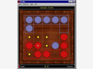 Ein altes koreanisches Brettspiel für zwei Personen.