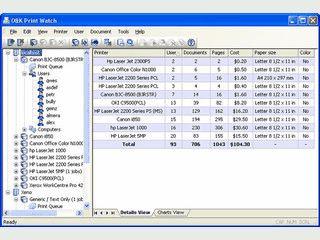 Tool zur Verwaltung von Druckern und Druckaufträgen in Netzwerken.