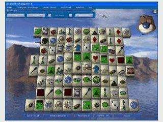 3D Mahjongg mit vielen Steinsätzen, Layouts, Editor usw.