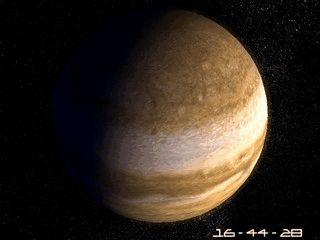 Der Jupiter mit seinen faszinierenden Ringen schont Ihren Bildschirm