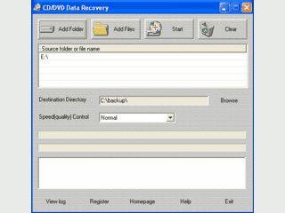 Tool zum Retten von Daten auf defekten CDs und DVDs