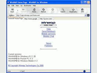 WAP Browser zur Darstellung von WAP-Seiten auf Windows Systemen