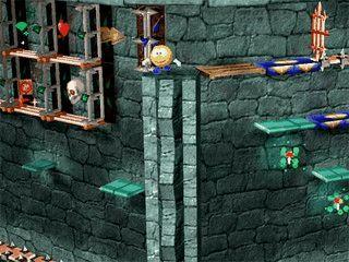 Schließen Sie sich Flying Doughman bei seinen Abenteuern im Magischen Turm an.