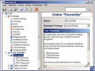 Datensafe zur verschlüsselten Verwaltung von beliebigen textbasierten Daten