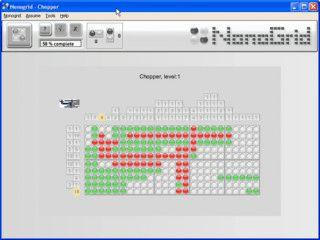 NonoGrid ist ein Denkspiel das ein wenig an Minesweeper erinnert