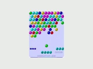 Sammlung mit 7 verschiedenen Bubble-Games für den Pocket PC