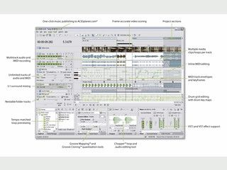 Umfangreicher Audioeditor in der neuen Generation