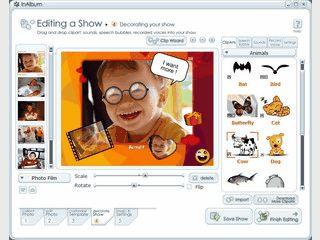 Software zum Erstellen von Photoalben als EXE oder Screensaver