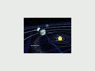 3D Model unseres Sonnensystems