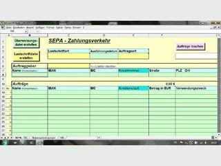 Erstellung einer dtaus-Datei mit MS Excel