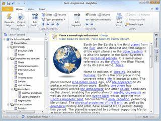 Übersichtliches Werkzeug zum Erstellen von Windows Hilfedateien