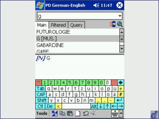Wörterbuch mit bidirektionaler Wortübersetzung und Sprachausgabe
