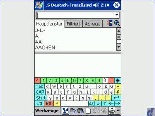 Sprechendes Übersetzungsprogramm deutscj - franzsösich