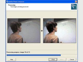 Automatische Bildkorektur von Fotos die Sie mit einem Foto-Handy gemacht haben