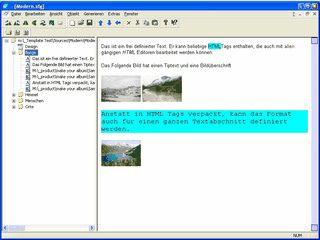 Software zum Erstellen von HTML Fotoalben
